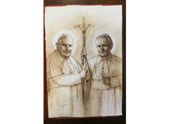 I due santi Pontefici uniti nella missione alle genti