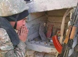 """""""Turcos y azeríes nos quieren muertos, los armenios defendemos el cristianismo"""""""