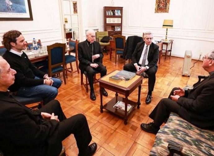 Fernandez y los obispos argentinos
