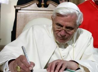 """Uniones civiles """"contrarias al bien común"""", Benedicto lo confirma"""