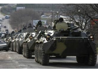 Ucraina, i primi fuochi di una guerra civile
