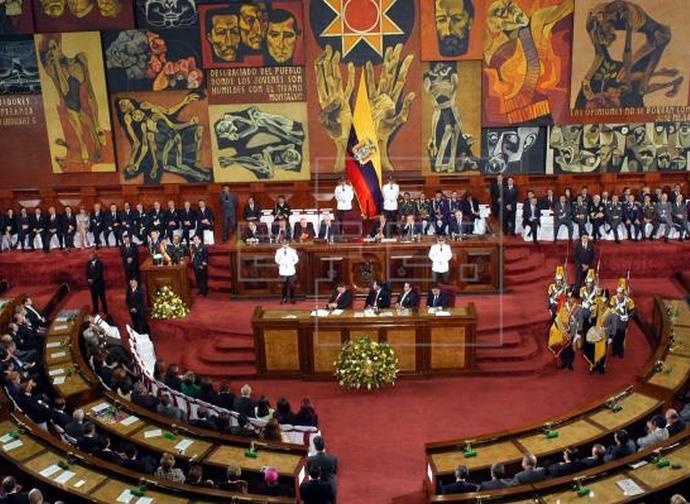Ecuador Parlamento Large Large