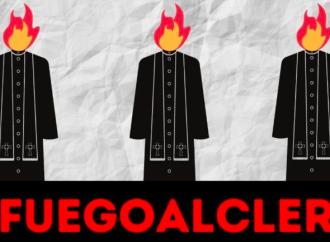 """""""Fuego al clero"""": Twitter no condena el odio al cristianismo"""