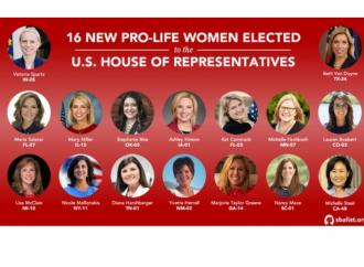 Gracias a Trump: elegidas 17 mujeres pro vida