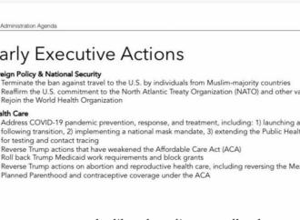 """La agenda """"pacificadora"""" de Biden sale a la luz: Prioridad al aborto"""