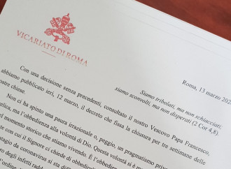 """""""Las iglesias de Roma se reabren"""". El Papa y el cardenal vicario se acusan mutuamente"""