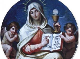 La Eucaristía, el verdadero Cuerpo nacido de la Virgen María