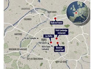 """""""Parigi brucia"""". E' l'11 settembre della Francia Stato di emergenza nazionale. Chiuse le frontiere"""