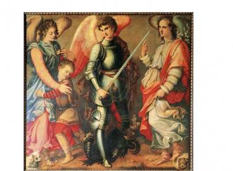 Santos Arcángeles Miguel, Gabriel y Rafael