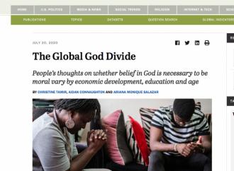 Encuesta global: el mundo aún cree en Dios