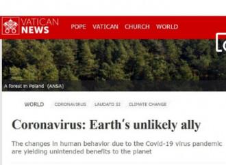 Coronavirus y ecología, Vatican News no nos engaña