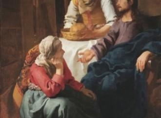 Lázaro, Marta y María, amigos de mesa de Jesús