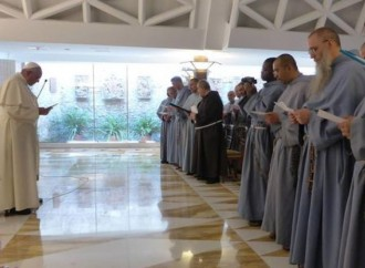 Los 8 años del Calvario de los Franciscanos de la Inmaculada